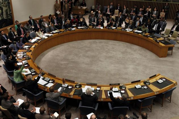 Image of the U.N. Security Council via Reuters